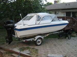 Vanguard Boat and Shoreliner Trailer