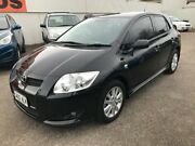 2007 Toyota Corolla ZRE152R Levin SX Black 6 Speed Manual Hatchback Woodville Park Charles Sturt Area Preview