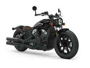 2019 Indian Motorcycle Scout Bobber ABS Thunder Black