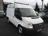 Ford Transit 2.2TDCi 100PS Swb hi top 2012 12 Reg 1 company owner from new 132,0