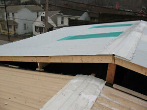 looking for fiberglass roof paneling