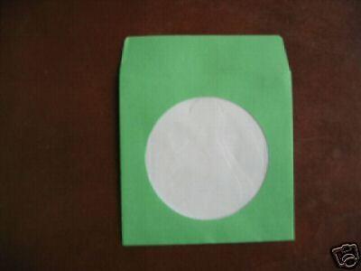 1000 Mini 3 Green Cd Paper Sleeve W Window Js208