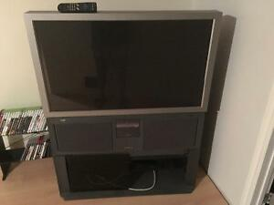 43 inch hitachi projection tv