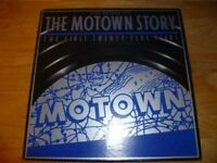 Motown Story : The First Twenty-Five Years - Five LP Box Set