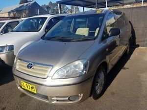 2002 Toyota Avensis ACM20R Verso GLX Champagne 4 Speed Automatic Wagon Campbelltown Campbelltown Area Preview