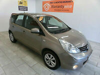 2009 Nissan Note 1.4 16v Acenta BLUETOOTH, CRUISE, *BUY FOR £16 A WEEK*