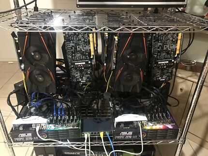 Mining rig 440mh/s ethereum