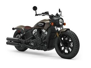 2019 Indian Motorcycle Scout Bobber ABS Bronze Smoke