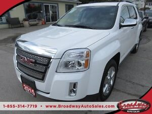 2015 GMC Terrain ALL WHEEL DRIVE LOADED SLT EDITION 5 PASSENGER