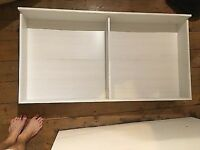 Ikea White Brusali Underbed Storage Drawer - £15 - collect from Shoreditch