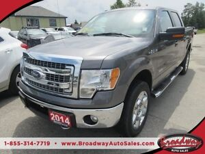 2014 Ford F-150 'WORK READY' POWER EQUIPPED XLT MODEL 6 PASSENGE