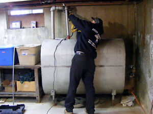 Oil Tank Removals, interior or exterior oil tank MUST be removed