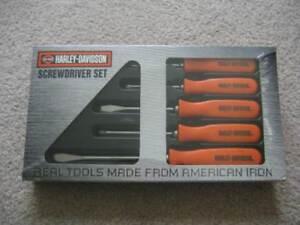 harley davidson screwdriver set 5pc usa iron Blacktown Blacktown Area Preview