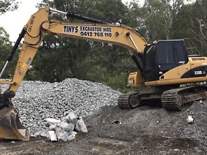 Tiny's Excavator Hire Hope Island Gold Coast North Preview