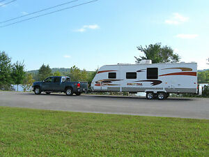 2010 Sunset Trail ST30BH Luxury Bunkhouse Trailer, 1/2 ton tow
