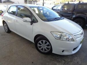 2012 Toyota Corolla ZRE152R MY11 Ascent White 4 Speed Automatic Hatchback Sylvania Sutherland Area Preview