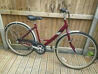 Legendary Raleigh Caprice Ladies / teenage town dutch/ dutchie style bike. 26 inch. Smooth ride.