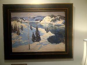 Large Stunning Canadian Landscape oil painting