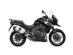 2018 Triumph Tiger 1200 XRX Low Jet Black