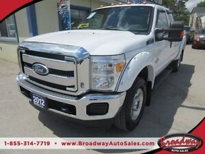 2012 Ford F-350 B-20 DIESEL WORK READY XLT MODEL 6 PASSENGER 6.7