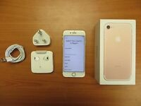 FOR SALE/ PART EXCHANGE/ APPLE IPHONE 7 PLUS 32GB GOLD/ VODAFONE NETWORK