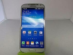 Samsung Galaxy S4, 16 GB, WHITE, UNLOCKED, Supports 64 GB SD Card, Discounted Price, STOCK # 920CLP2594
