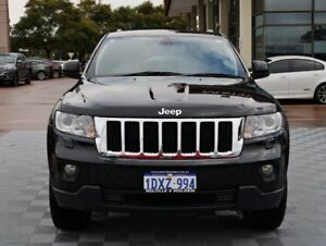 2012 Jeep Grand Cherokee WK MY2013 Laredo Black 5 Speed Sports Automatic Wagon