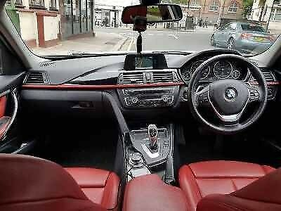 Bmw 320d Sports Automatic In White With Red Leather Seats Sat Nav