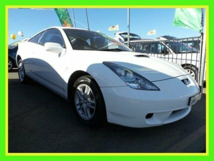 2001 Toyota Celica ZZT231R SX White 6 Speed Manual Liftback