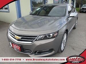 2017 Chevrolet Impala LOADED PREMIER MODEL 5 PASSENGER 3.6L - V6