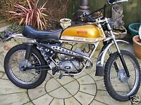 FANTIC CABELLERO super special 49cc moped 1972 rare unrestored nice example