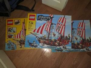 Lego Pirate ship 70413, Lego Police Station