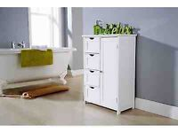 GFW Large 4 Drawer / 1 Door Multi-Use Bathroom Unit... brand new