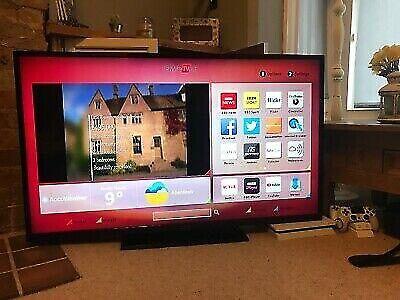 "Hitachi 48"" Smart Led Ethernet Tv Freeview HD Netflix app Excellent  condition | in Wimbledon, London | Gumtree"