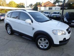 2010 Holden Captiva CG MY10 CX (4x4) White 5 Speed Automatic Wagon Sylvania Sutherland Area Preview