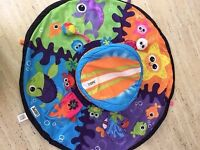 Lamaze baby Tummy Time Spin and Mamas n Papas Tummy Time Pillow