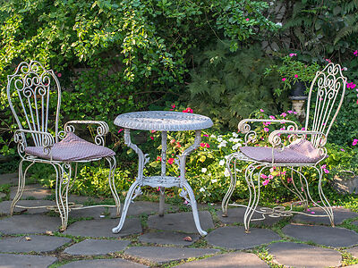 How To Restore A Metal Garden Table Ebay