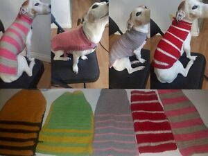 Colorful Dog Sweaters- Great for the Cold & Make Great Gifts!