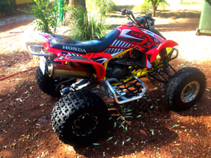 TRX450ER and Double Axel Trailer Redcliffe Belmont Area Preview