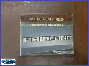 FORD ZL FAIRLANE OWNERS MANUAL BOOK Yallourn North Latrobe Valley Preview