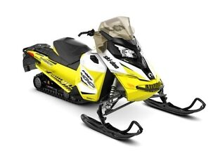 2017 Ski-Doo MXZ TNT ROTAX 1200 4-TEC White  Sunburst Yellow RE