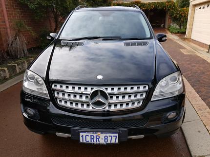 2007 Mercedes-Benz ML350 Luxury Variant (4x4) W164 7sp Automatic