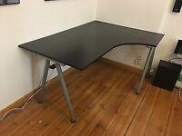IKEA Galant Desk - Black - FREE