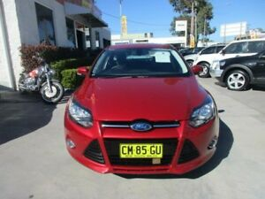 2012 Ford Focus LW Sport Red Auto Dual Clutch Hatchback