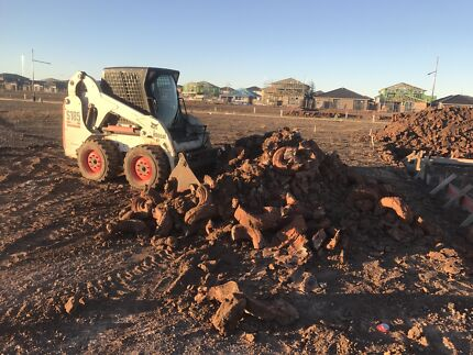 Bobcats/ Excavators/ Tippers/ Soil Removal/ Site Cleans