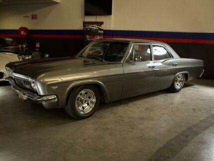 1966 Chevrolet Bel-Air Grey 2 Speed Automatic Sedan