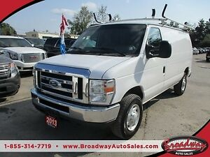 2013 Ford E250 CARGO MOVING XL MODEL 2 PASSENGER 4.6L - V8.. ADV