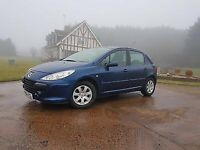 Peugeot 307, 5 Door Low miles, two lady owners