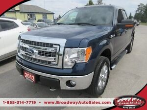 2013 Ford F-150 WORK READY XLT MODEL 6 PASSENGER 5.0L - V8.. 4X4