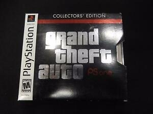 ! RARE ! Grand Theft Auto Collector Edition pour Playstation 1 (i018106)